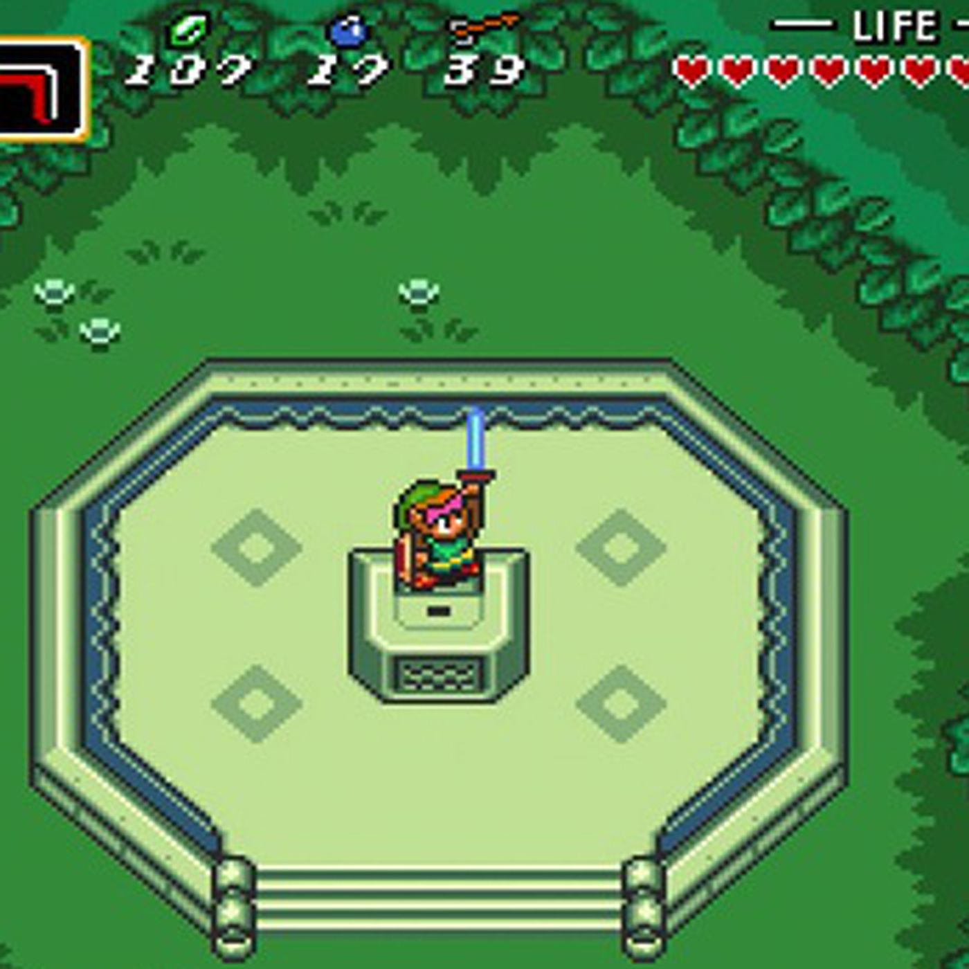 The Legend Of Zelda A Link To The Past Is Now On Wii U The Verge