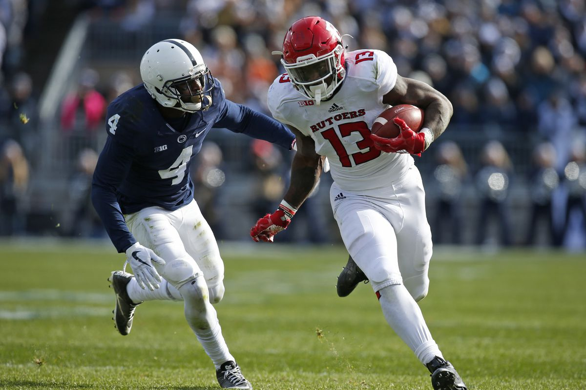 c2505e755 No. 14 Penn State Nittany Lions at Rutgers Scarlet Knights  2018 ...