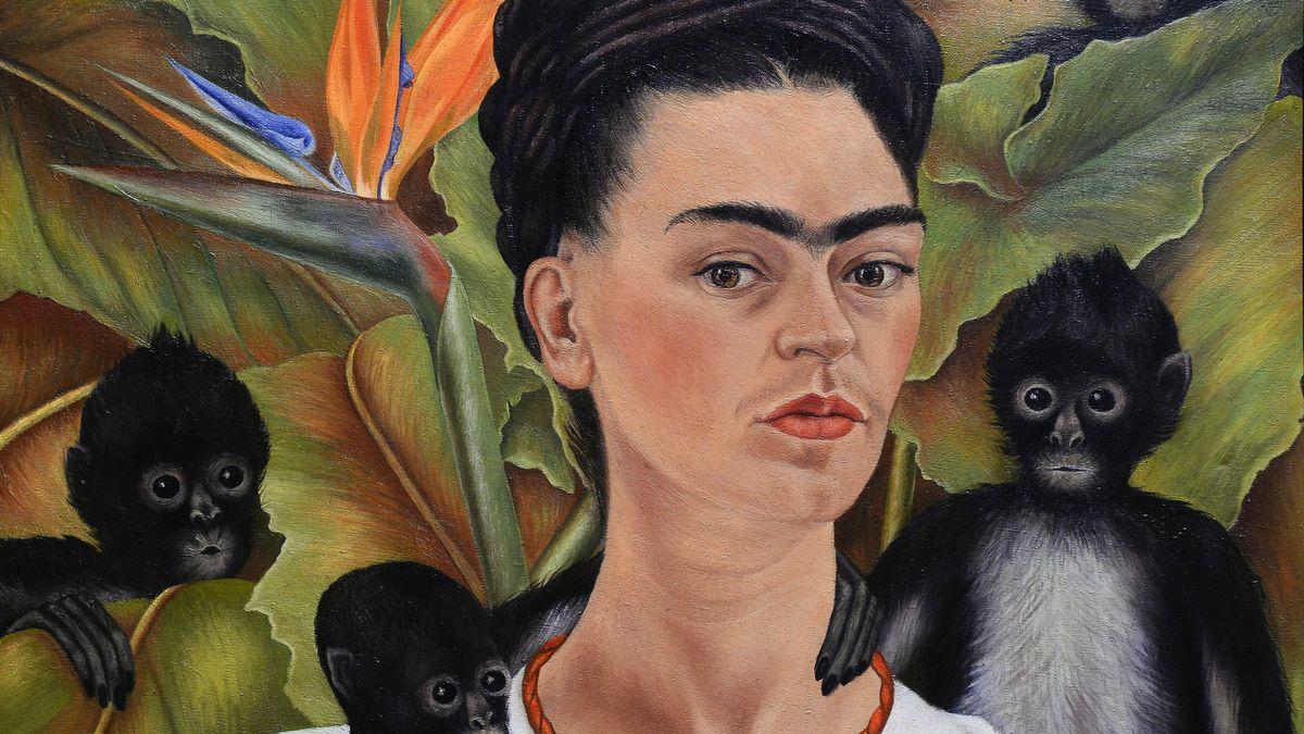 searching for frida kahlo at cvs