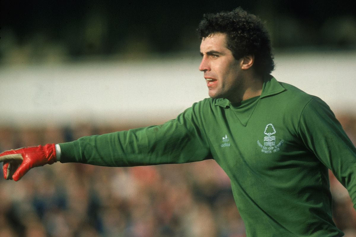 Peter Shilton points the way towards European Cup Glory