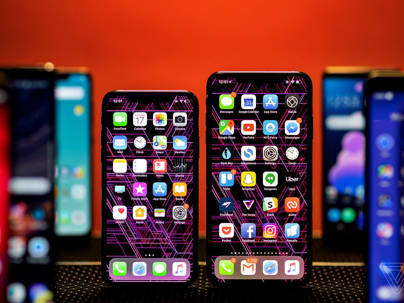05afe9d78d86 Apple and Samsung feel the sting of plateauing smartphones - The Verge
