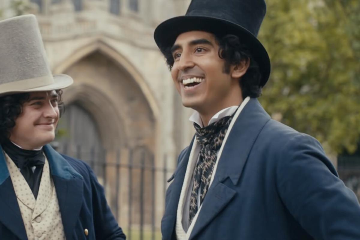 dev patel in a swank victorian top hat