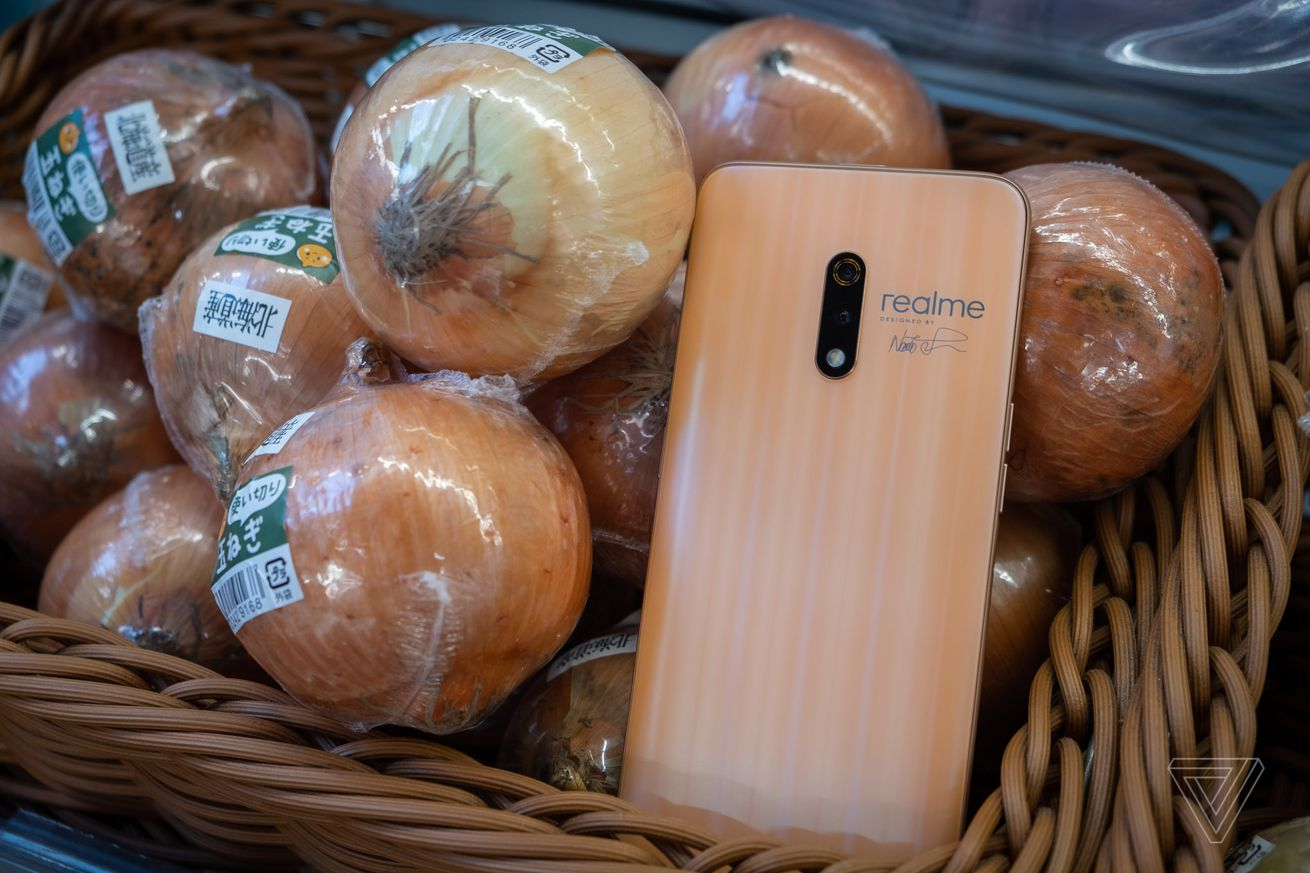 The Onion version of the Realme X Master Edition.