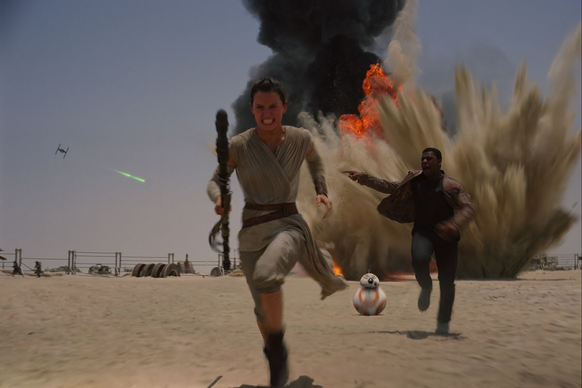 Star Wars The Force Awakens promotional stll