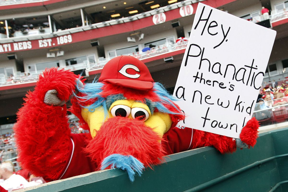 """What Cloyd Rage looks like (Memo to Reds re: """"Gapper"""": Just because you <em>can</em> doesn't mean you <em>have to</em>.) Credit: Frank Victores-US PRESSWIRE"""