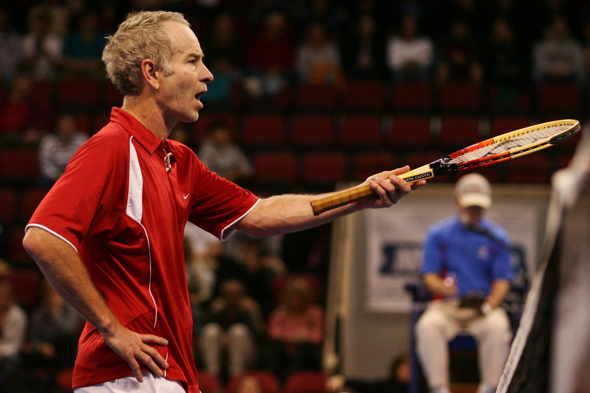Champions Cup of Boston - John McEnroe