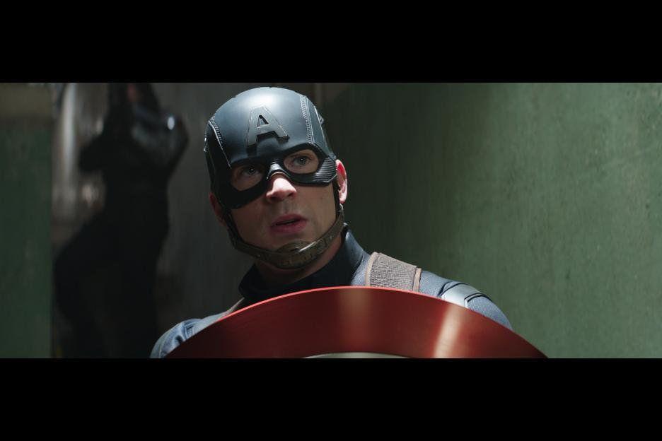 Captain America in Captain America: Civil War