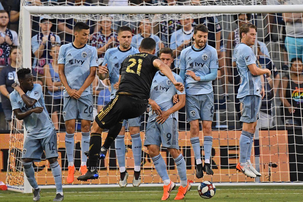 MLS: Los Angeles FC at Sporting Kansas City