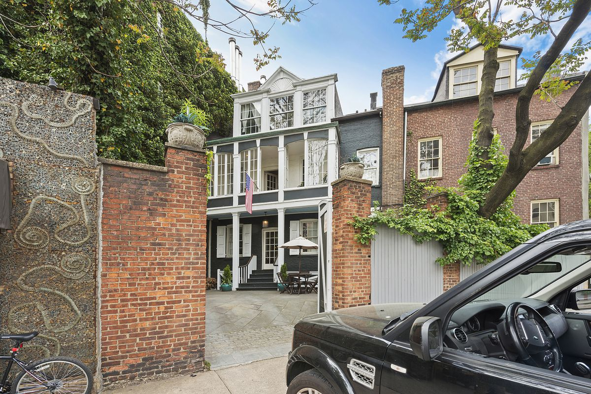 Stunning 187 year old west village townhouse with a secret for West village townhouse for sale