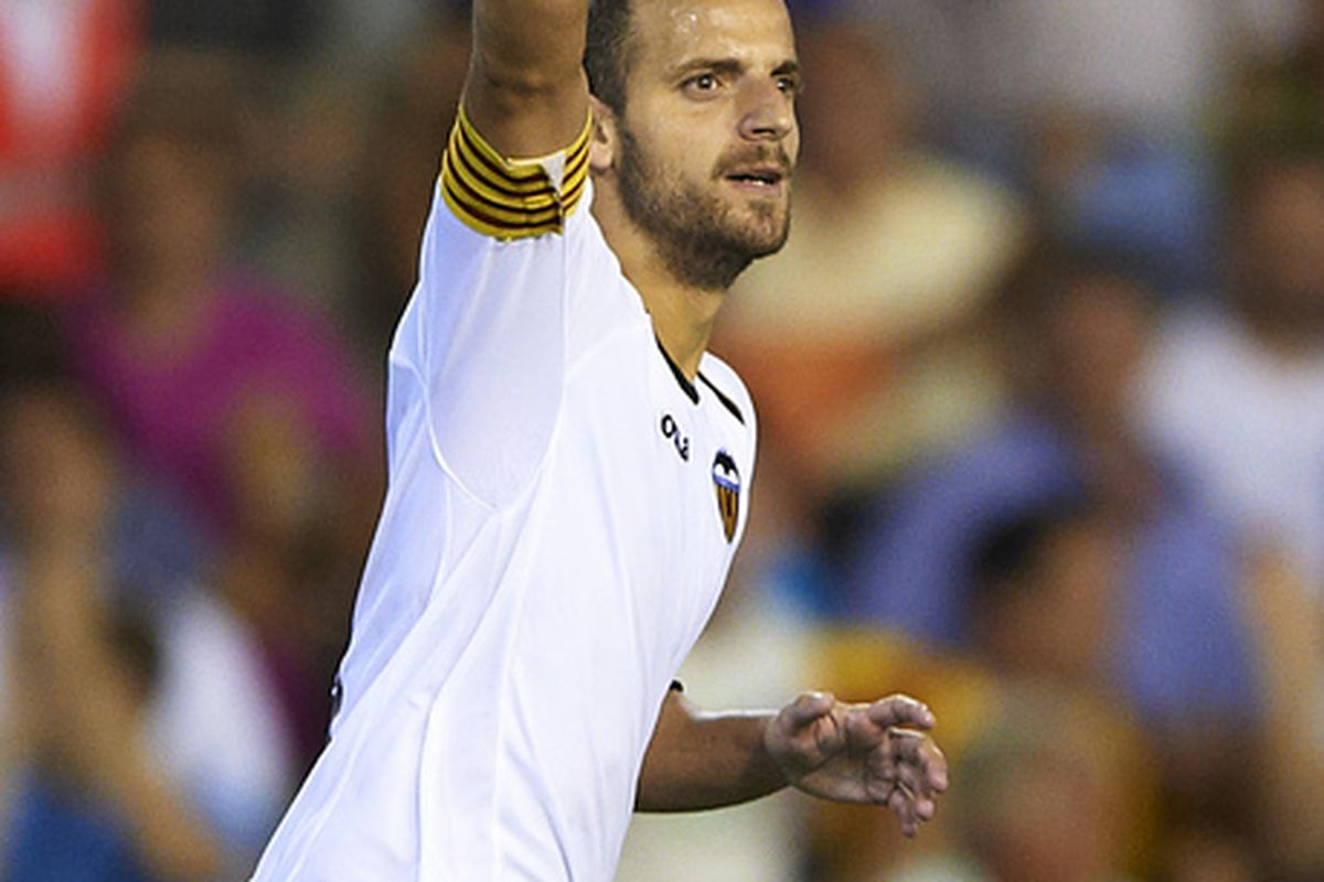 Roberto Soldado indicates the number of stars that the Real Madrid academy he graduated from has produced for them in the past decade or so