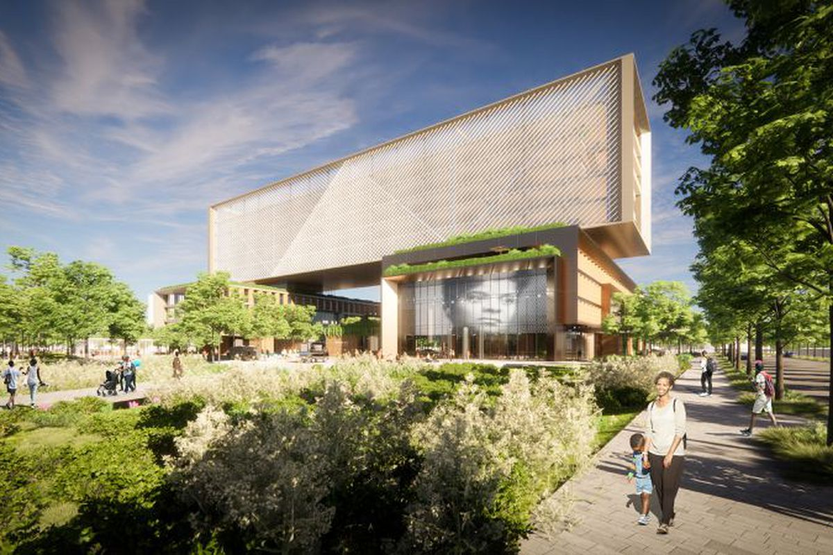 The Arc Innovation Center, operated by Israel's Sheba Medical Center, slated for 31st Street and Cottage Grove Avenue at the planned Bronzeville Lakefront development.