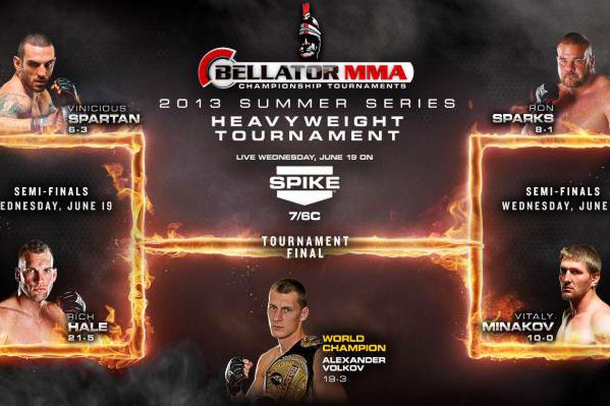 Bellator 96 adds heavyweight tournament