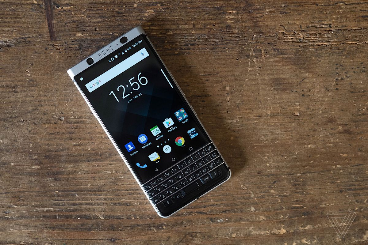 BlackBerry KeyOne will be available next month - The Verge