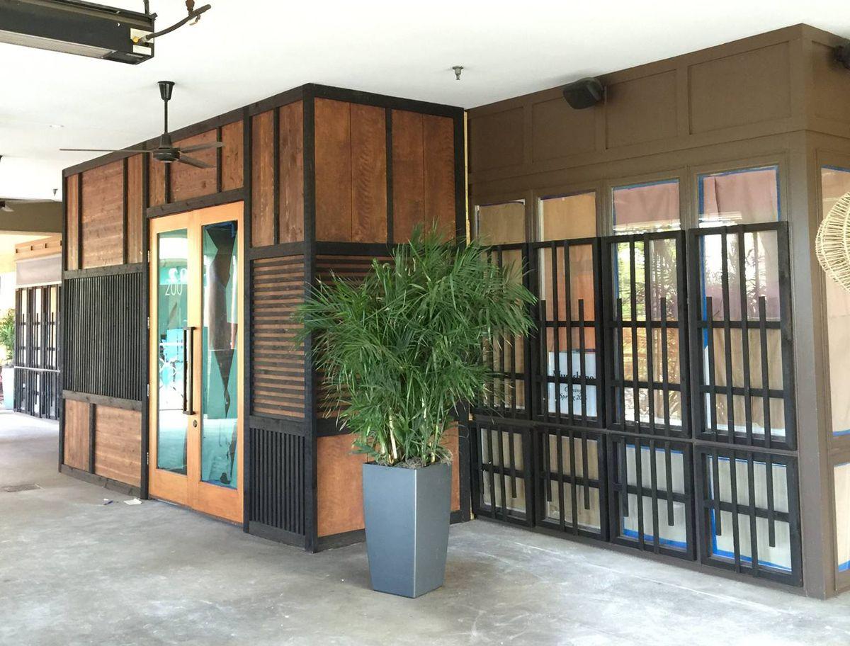 """Musashino's new facade. [Photo: <a href=""""https://www.facebook.com/MusashinoSushi/photos/a.149684309276.108008.95576024276/10154038525954277/?type=3&theater"""">Musashino/Facebook</a>]"""