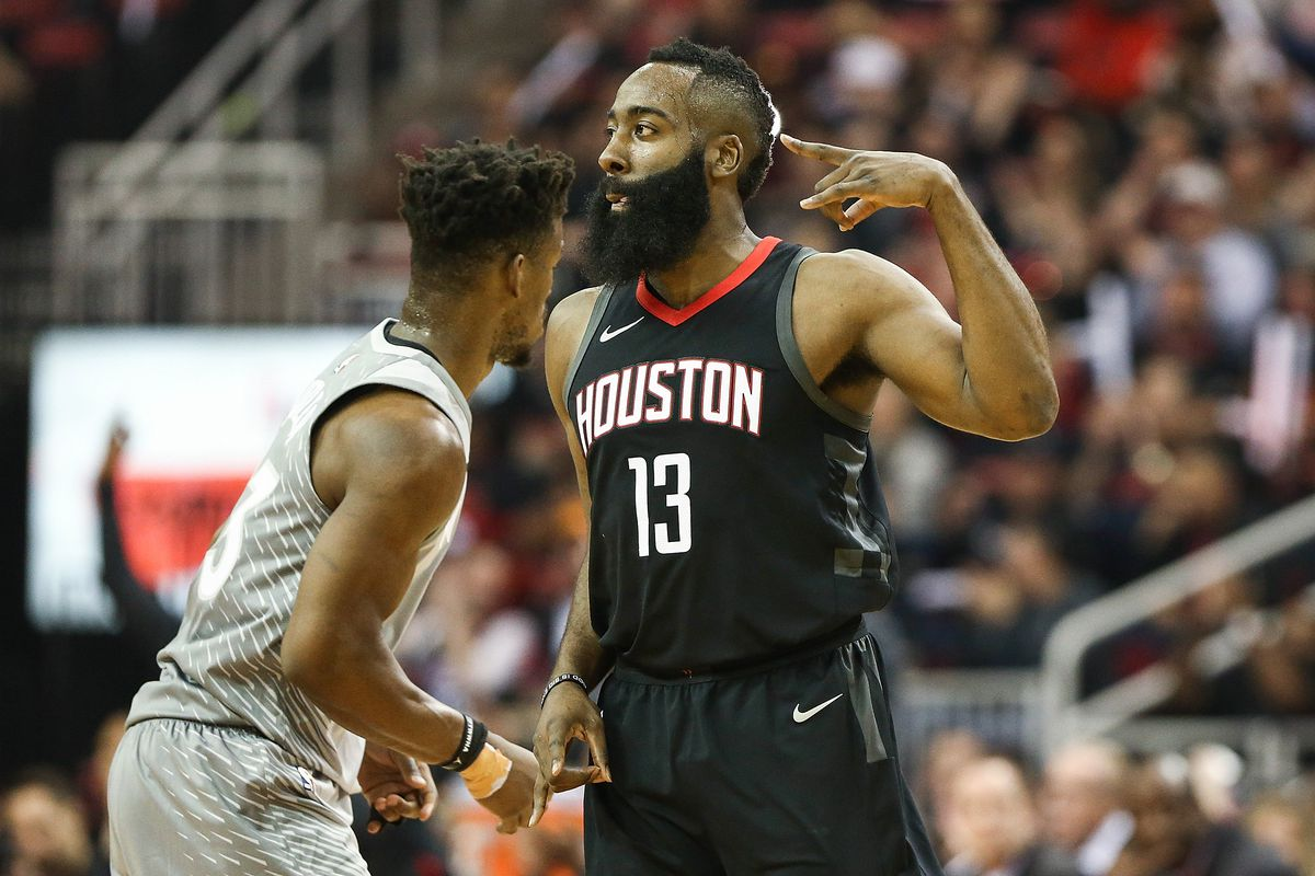 7bfff3abe232 Timberwolves vs. Rockets 2018 results  James Harden scores 44 points in  narrow Houston win
