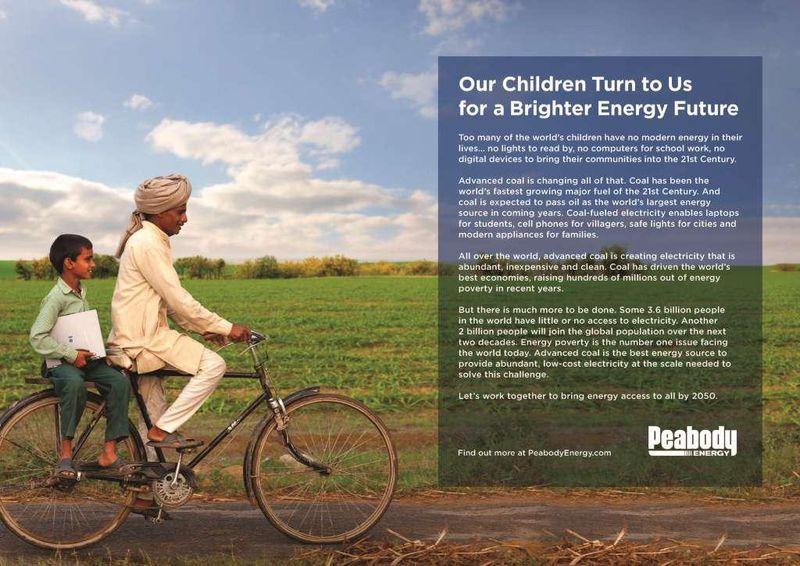 peabody coal poverty campaign