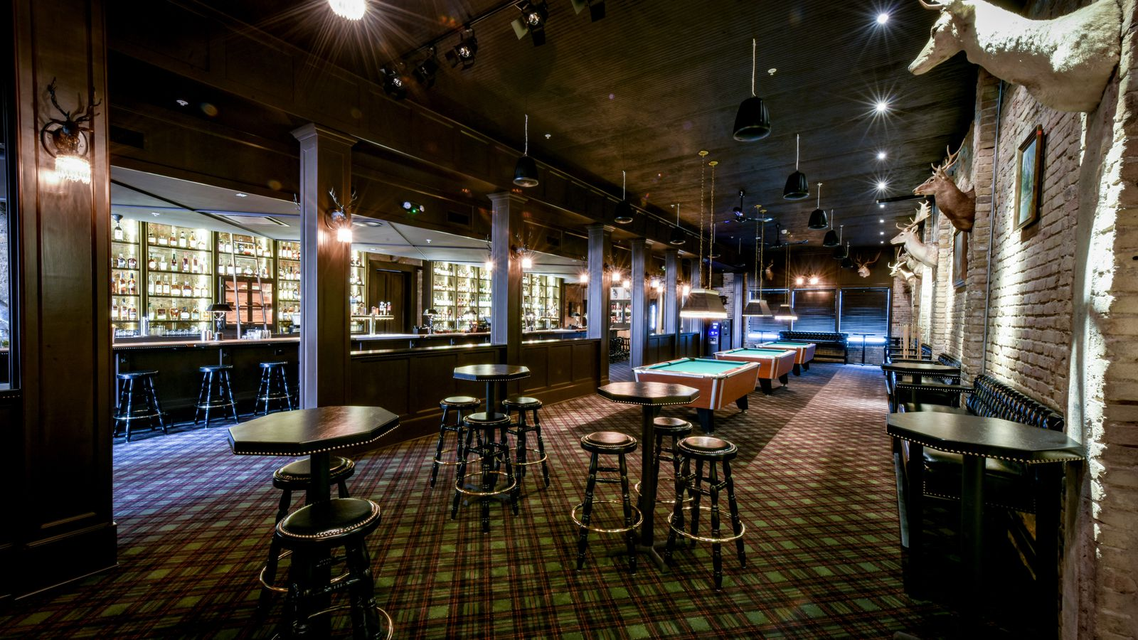 Step inside austin 39 s newest whiskey haven seven grand now for T s dining virden