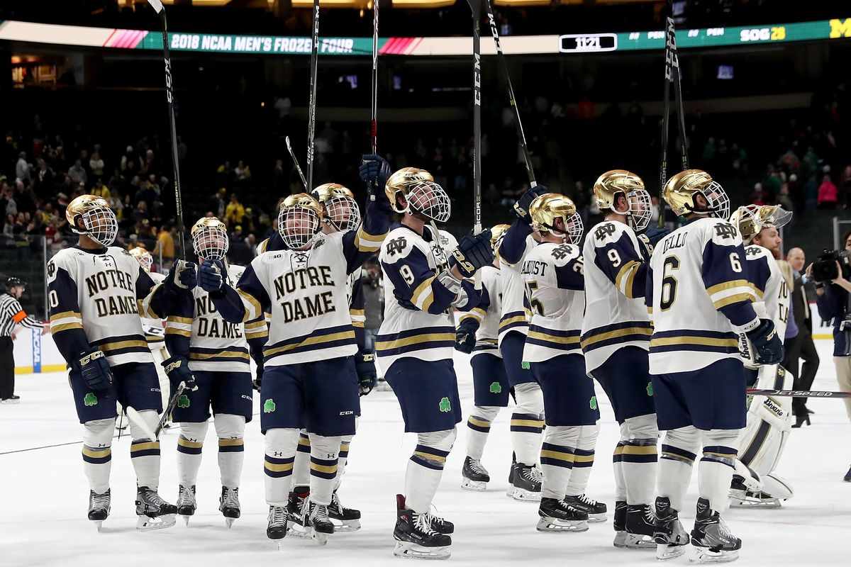 Notre Dame Hockey Sits #2 in USCHO Preseason Poll - One ...