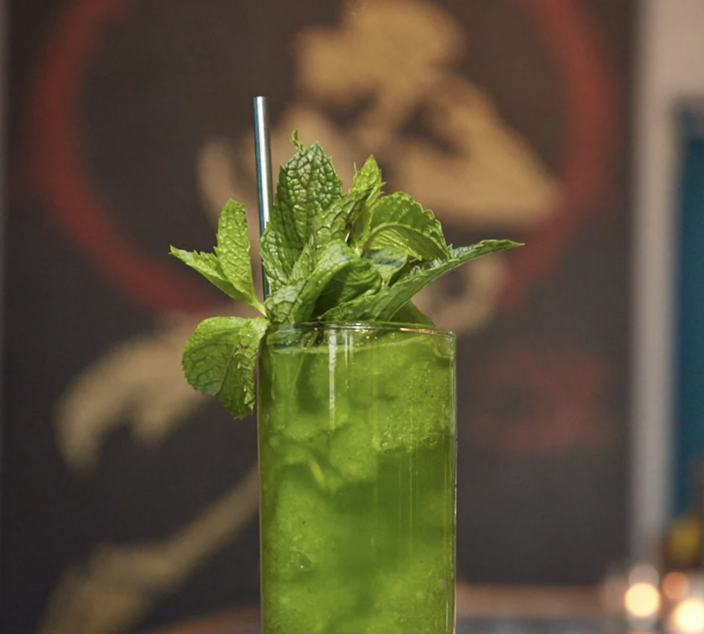 Vodka and mint lemonade from Green Zone
