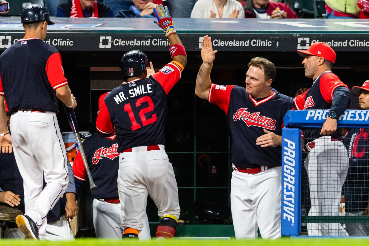 Indians won their 21st straight game, and we're in love