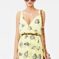 "<a href=""http://www.nastygal.com/clothes-dresses/ "">Nasty Gal Fresh Cut chiffon dress</a>, $58 nastygal.com"