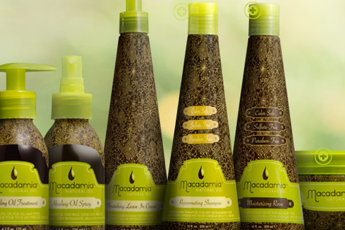 """The Macadamia Natural Oil <a href=""""http://www.macadamiahair.com/products/view/care"""">Care</a> line"""