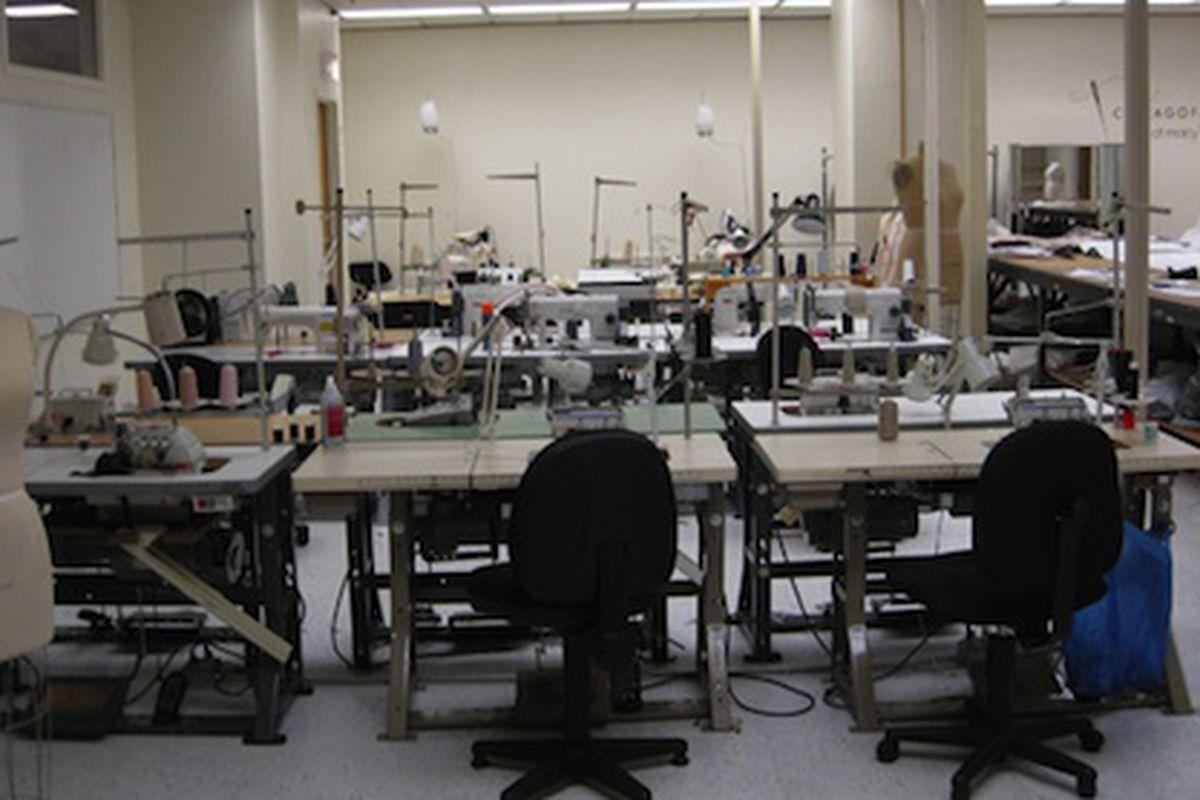 The Chicago Fashion Incubator Workroom