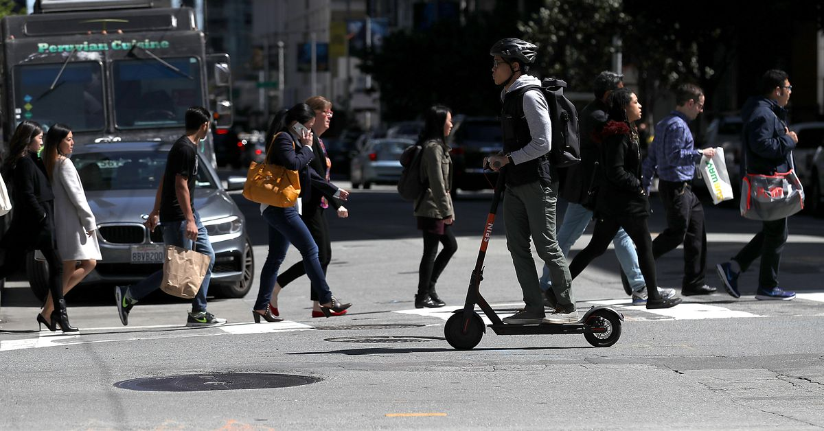 Scooter Rental San Francisco >> Electric scooters: San Francisco orders them off sidewalks ...