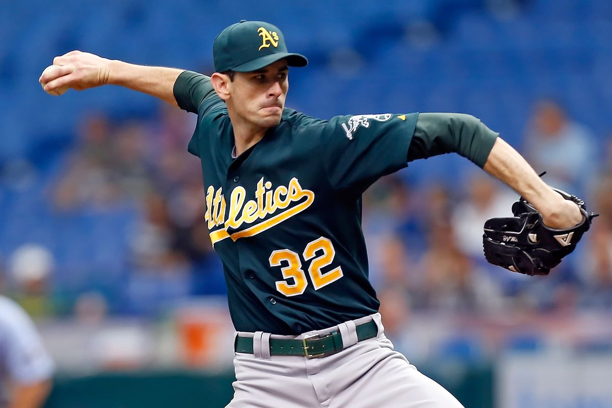 Brandon McCarthy naturally enhances the Athletics' playoff chances.