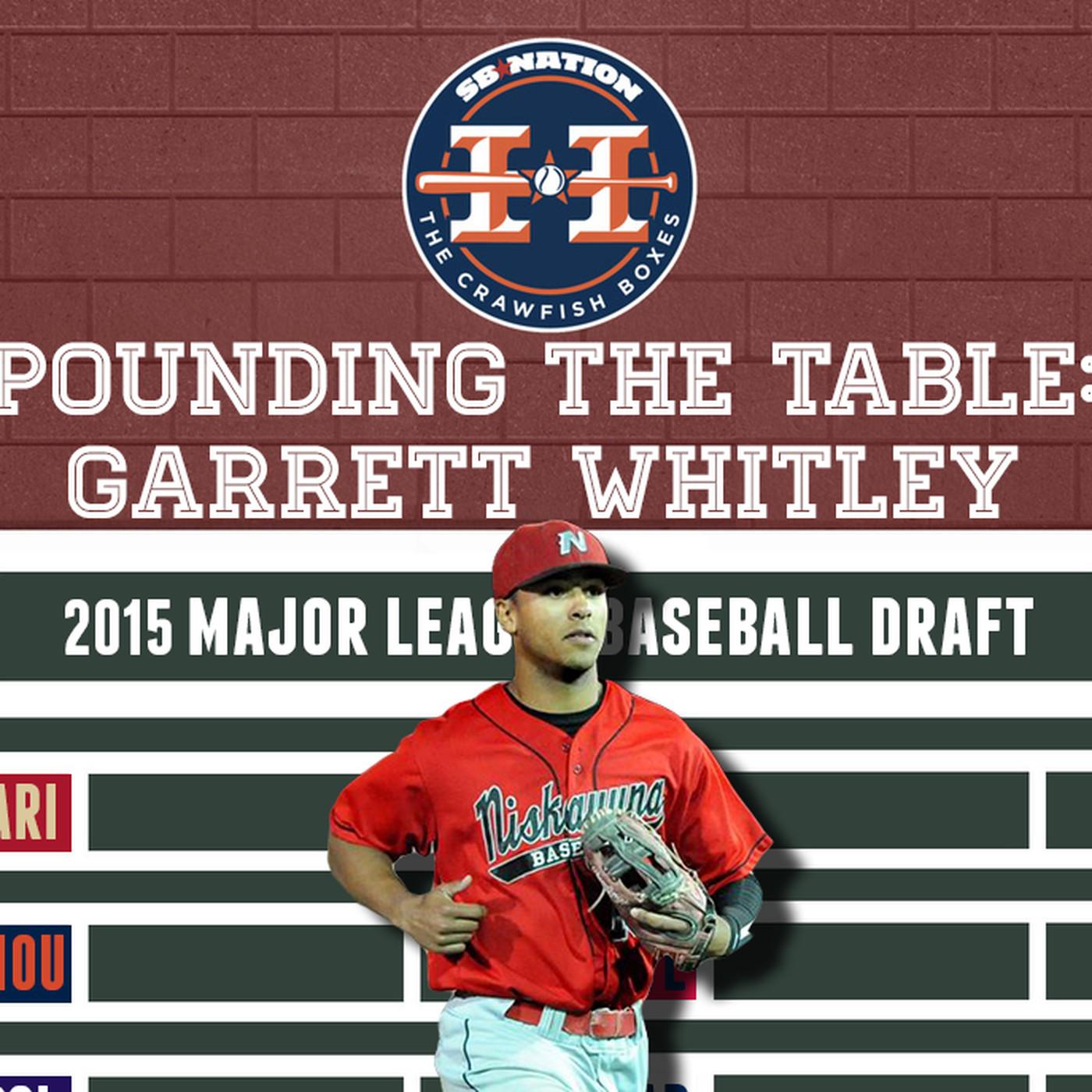 Garrett Whitley Draft