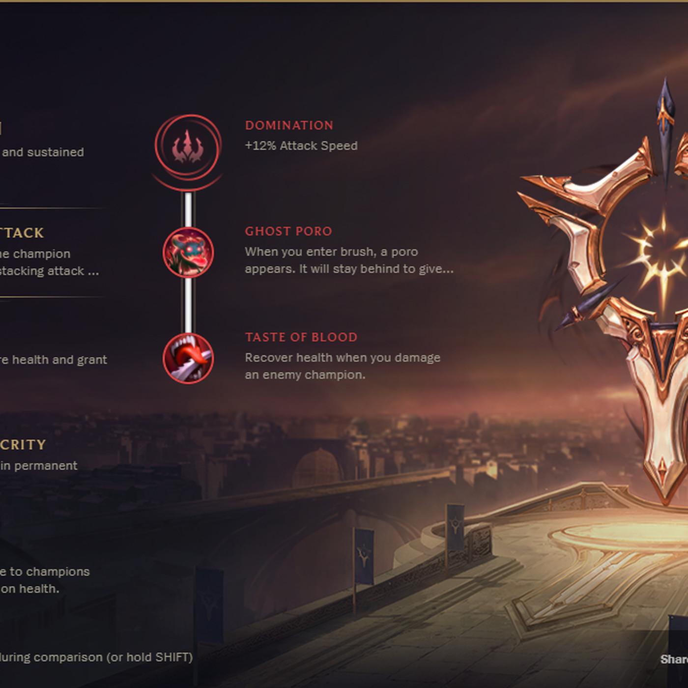 50% zniżki uważaj na zawsze popularny Every new League of Legends rune, listed - The Rift Herald
