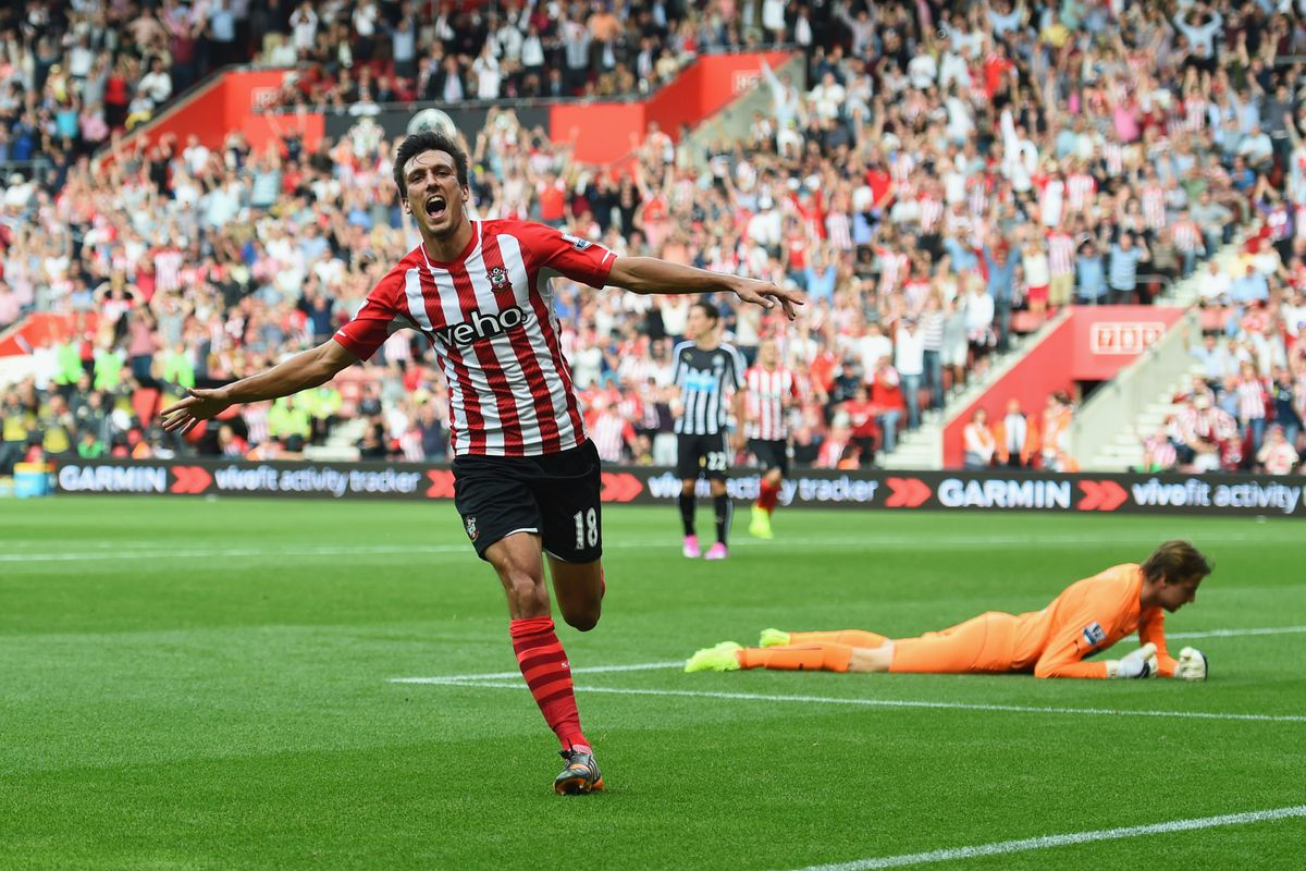 Jack Cork wheels away from Krul in celebration after his goal.