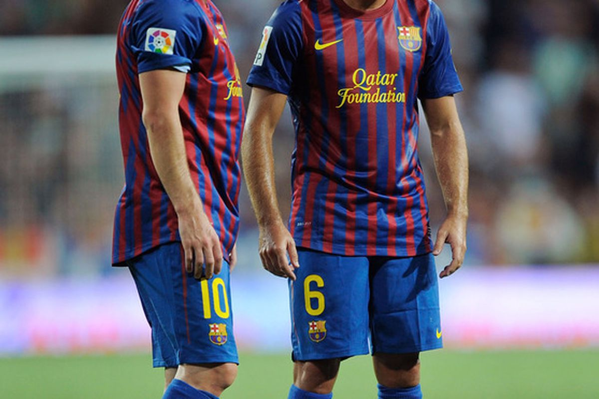 Will these two guys be able to lead Barcelona to a positive start to the 2011/12 season?