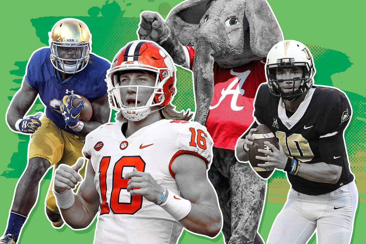 College Football Playoff Rankings  What the Top 10 Should Have Been ... 39c389af1