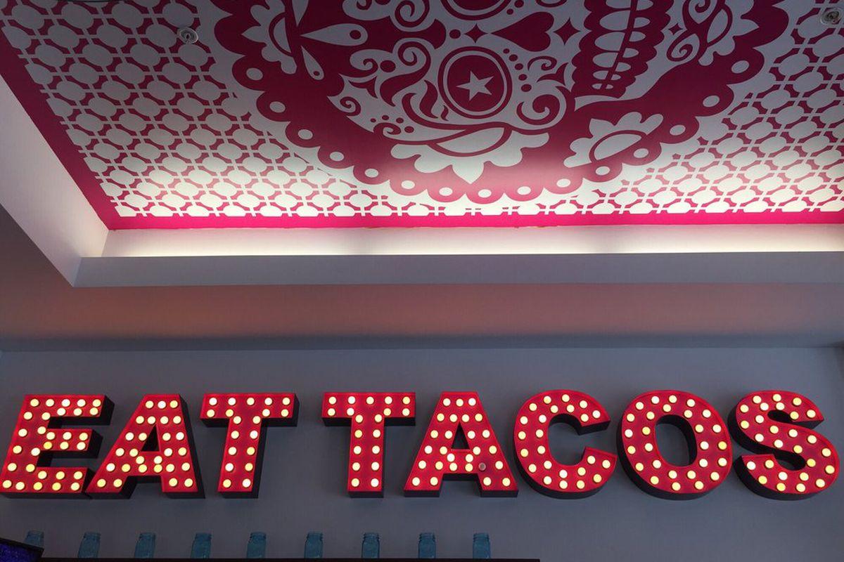 Inside U.S. Taco Co., Huntington Beach