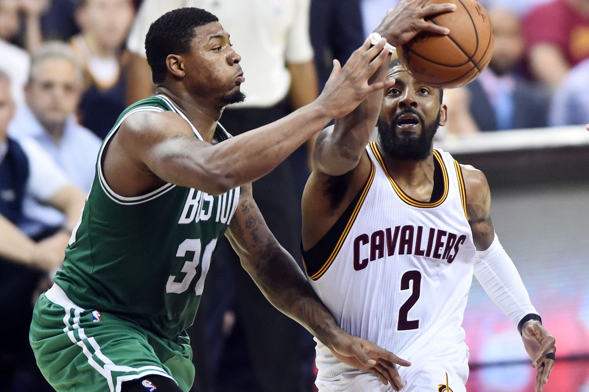 david griffin includes celtics on kyrie irving's list of desired