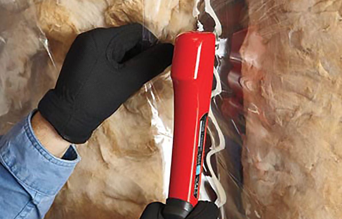 Man Adds Vapor Retarder Over Insulation