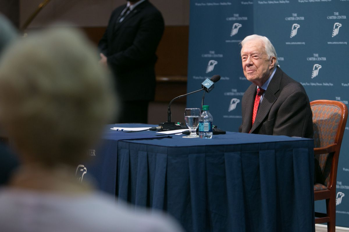 Jimmy Carter discusses his brain cancer