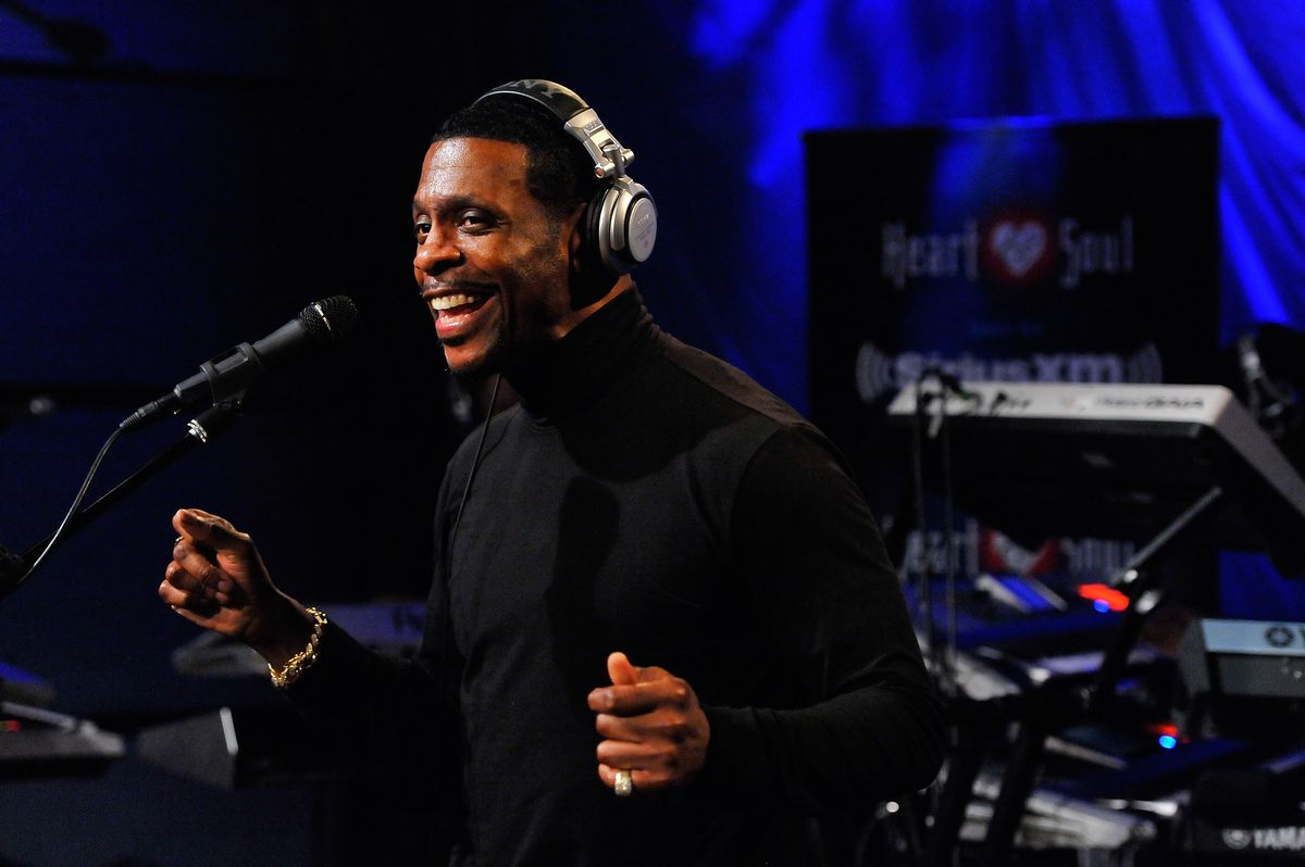 Keith Sweat Performs At The SiriusXM Studios In Washington DC Photo by Larry French/Getty Images for