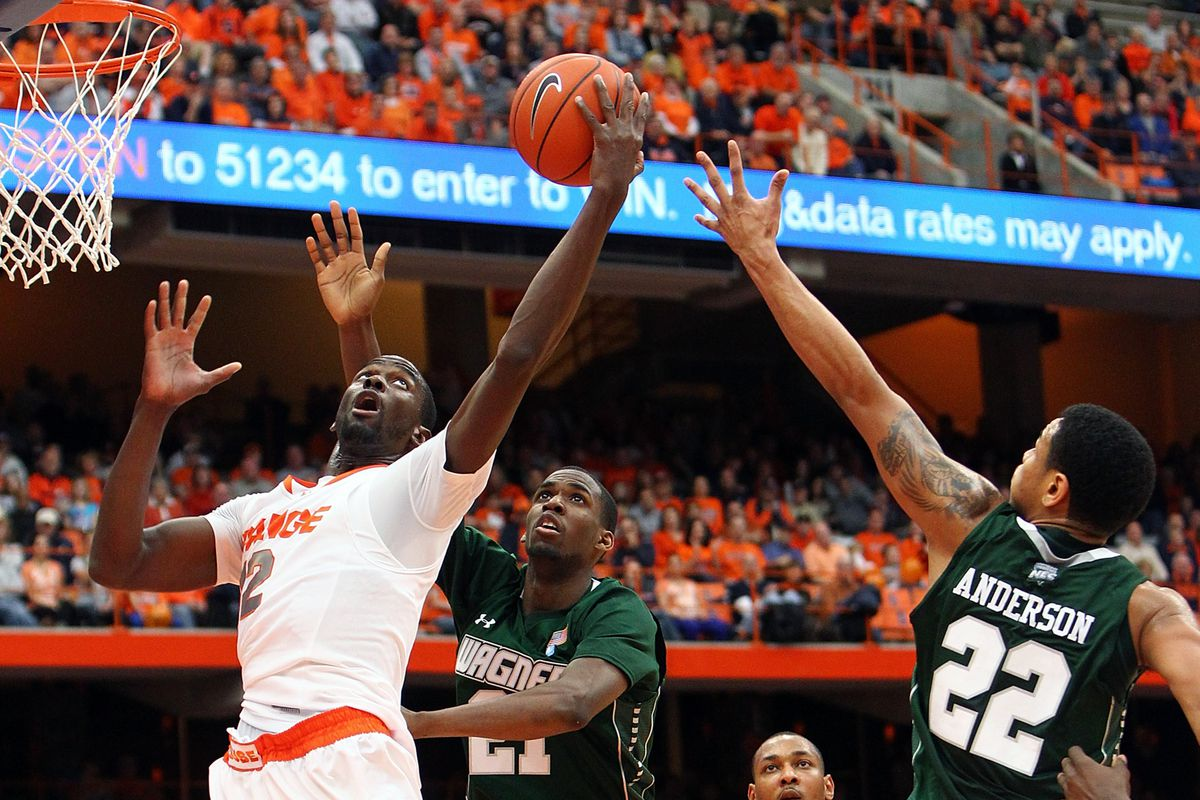 Baye Keita was a surprising contributor on offense with a career-high 15 points.