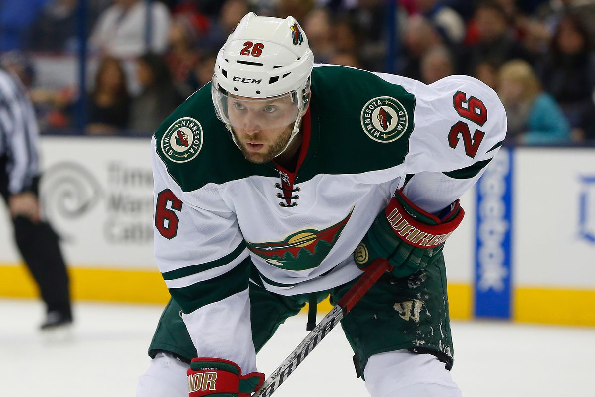 Thomas Vanek isn't giving much effort in this photo, but is it really such a bad thing?