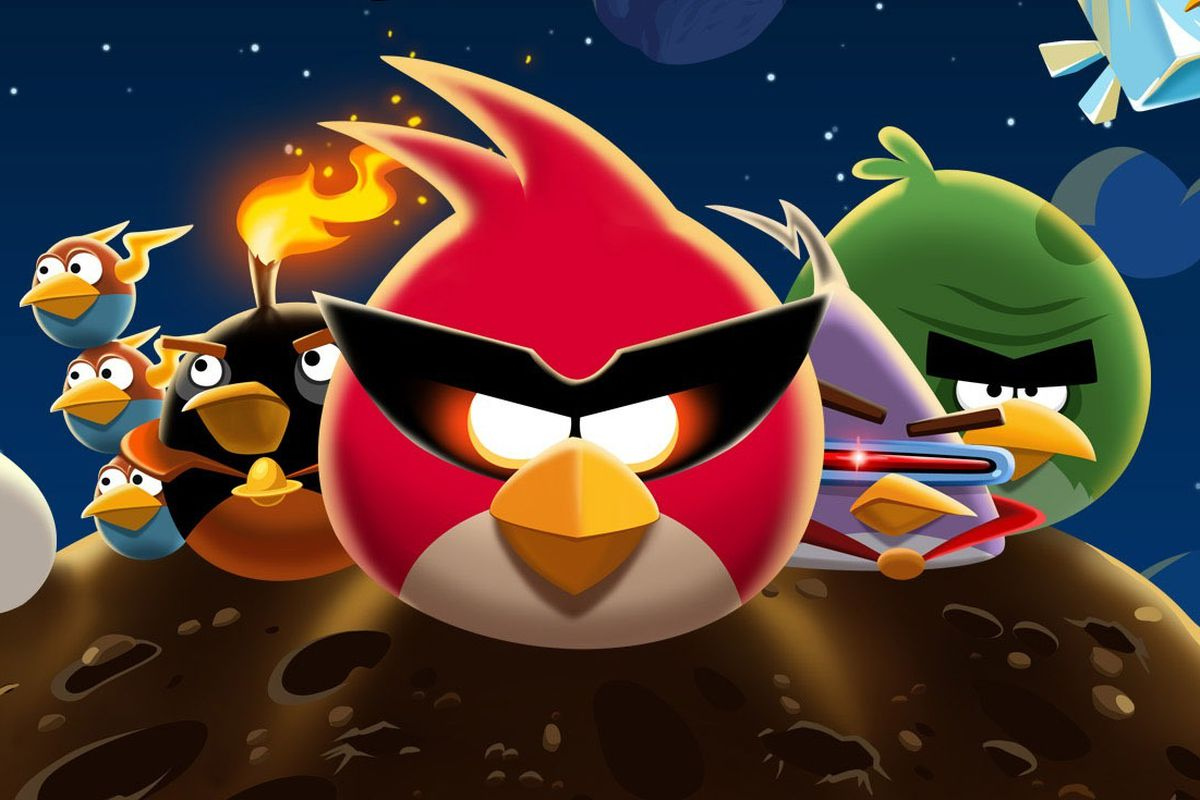 109 million people have played angry birds space this man is the angry birds space a worldwide hit with one unexpected champ voltagebd Images