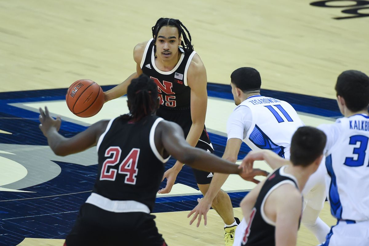 NCAA Basketball: Nebraska at Creighton