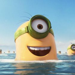 """The story of Universal Pictures and Illumination Entertainment's """"Minions"""" begins at the dawn of time. In the comedy-adventure, the Minions try to save all Minionkind ... from annihilation."""