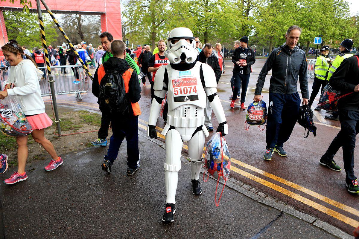 Marathons get weird