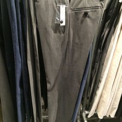 Trousers, size 32, $99 (was $265)