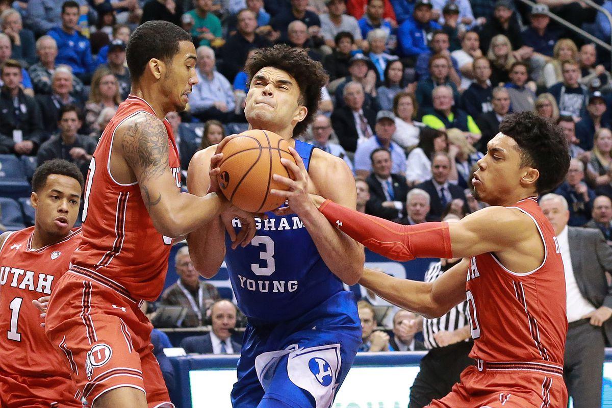 NCAA Basketball: Utah at Brigham Young