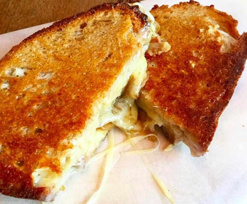 Best cheese toasties London: French onion at Cellar SW4