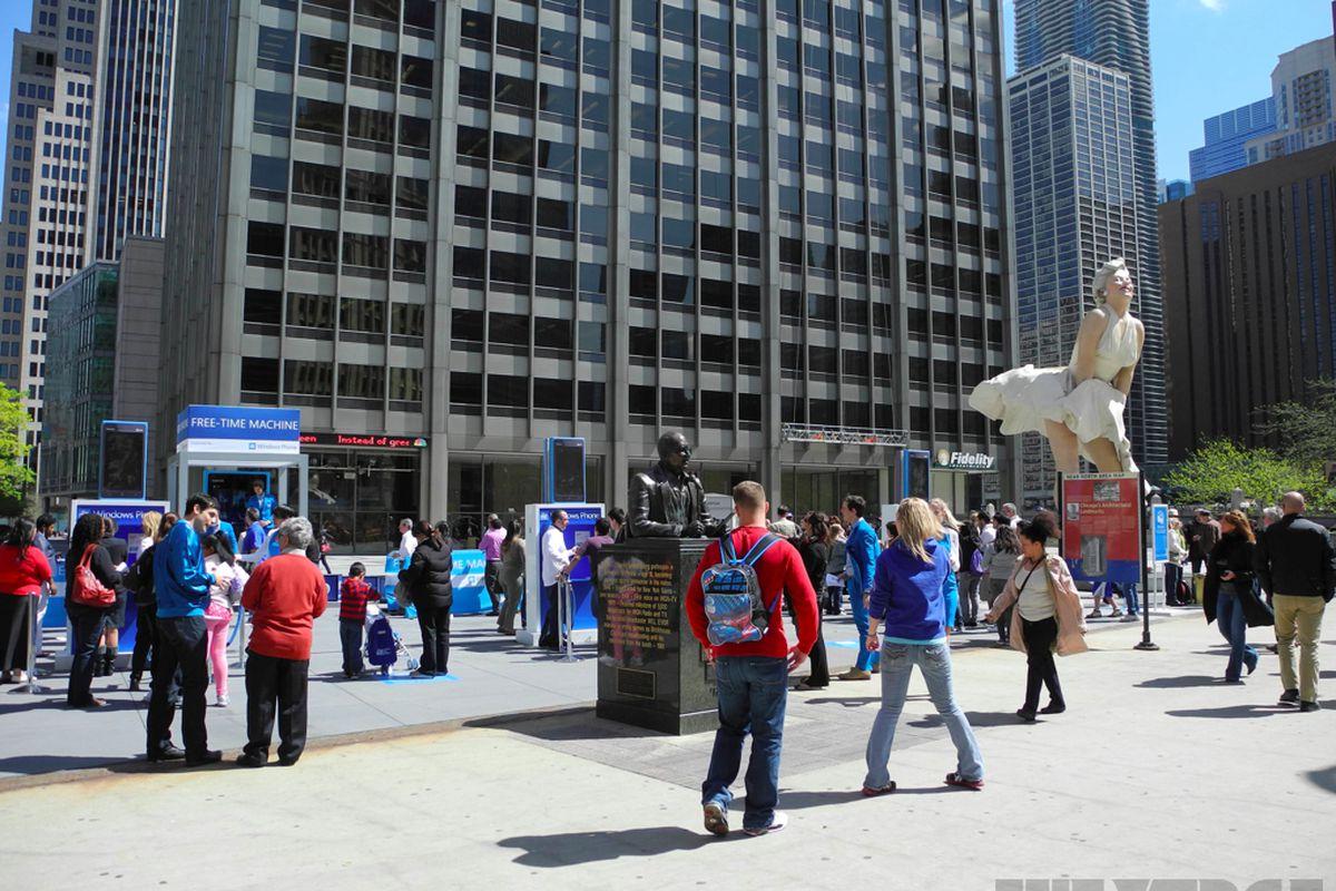 Microsoft Free-Time Machine event
