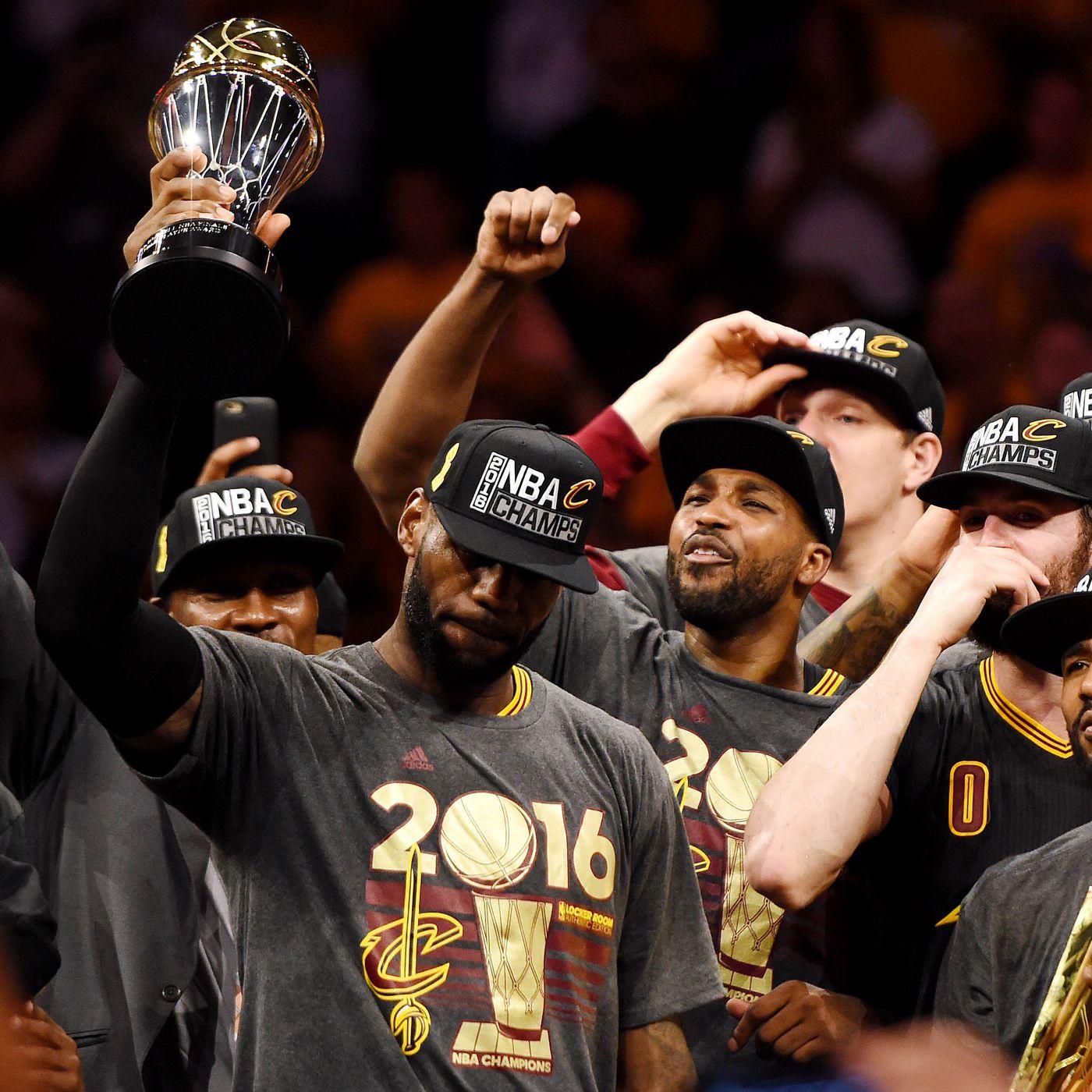 ef1d4e503fdf LeBron James is the obvious 2016 NBA Finals MVP winner - SBNation.com